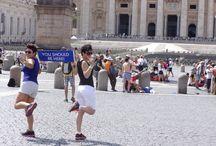 Ysbh / Rome 2014/Madrid2014/Amsterdam2014/Budapest2015/Olympos Mountain2015