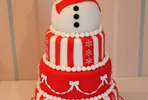 sugarcraft cake Christmas