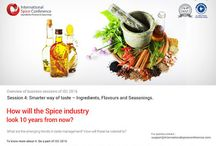 Decoding Spices In the 21st century / The dynamic 4-day International Spice Conference will discuss about the challenges faced by the industry and its solutions for decoding the spices in the 21st century.