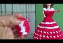 muñecas en crochet