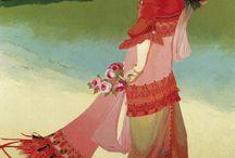 George de Feure   Alphonse Mucha e l 'ART NOUVEAU