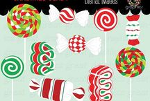 Great Graphics Holiday Clip Art/Digital Paper / Digital Paper and Clip Art by Great Graphics, for DIY holiday invitations, party decorations and holiday photo cards. http://www.greatgraphicsdesigns.com/Holiday-Digital-Paper-Clip-Art_c_22.html