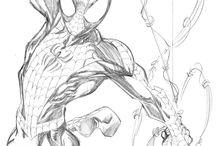 Comics sketches