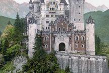 hrady a mesta