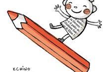 illustrazioni di Echino