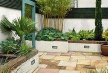 courtyards & backyards / by K. Fransen