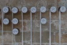 Reel Lives, 2013. / Caren Garfen - Artist.  Site specific work for C&M2 at Salts Mill, Saltaire, West Yorkshire. Concept: Real lives of young women working in Salts Mill - 1891. Hand stitched.