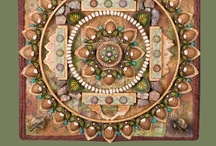 "Mandalas / I've loved mandalas (Sanskrit for ""circle"") since I was in my early teens. They're sacred, artistic, mathematical and inspiring."