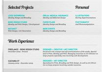 Resume Ideas / by Kathryn Chong