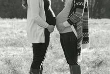 Zwanger shoot vriendinnen