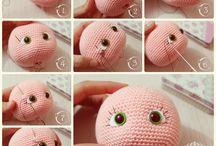 głowa lalki