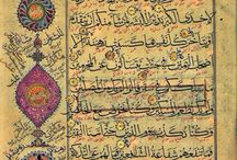 ✎ Quran & Arabic manuscripts / by Gadidjah ♥ Let's be Creative ♥