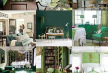 Go Green: Home Decor / How to use Green tastefully for a wonderful magical and natural affect!