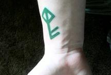 tatoveringer / Tattoos and placements I like :o