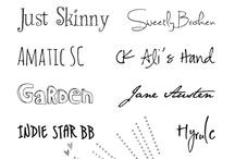 type and branding