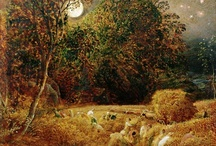 Samuel Palmer / Some favorite works by this British etcher and painter
