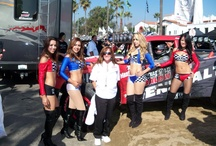 """Tecate Girls / The """"famous"""" Tecate Girls you find at Indycar races in the USA as well at selected off-road races as the tecate SCORE Baja 1000 in Mexico"""