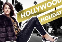 "Hollywood Holiday / ""Hollywood Holiday"" embraces the glamour of the season and the sun-drenched holidays in true Juicy style with couture details and high-impact layers. Shop the Juicy Couture Hollywood Holiday collection now: http://bit.ly/11rf5zv / by Juicy Couture"
