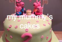My mummy's cakes / Cakes for all occasions