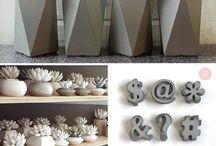 pots concrete