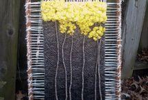 Frame loom + weaving