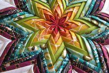 Folded material star