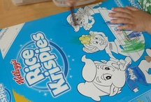 Colour Me In! / We asked mum bloggers to let loose their little Picassos with the new Colour Me In Rice Krispies box. Kids can customise their breakfast by colouring in Snap, Crackle & Pop. Here are some of the results! Has your child gotten creative with the new Rice Krispies box? Send along your pic and we'll post it here! This project is sponsored by Rice Krispies.