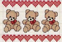 broderie petites ours