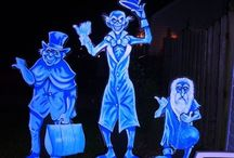 ☠ Fright Night ☠ / For the last 15 years my family has hosted a neighborhood haunted house for the community. We have about 500 people come through every Halloween. It's so much work, but all worth it to see people come back year after year because they enjoy it. / by Margie Miller