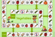 Zöldségek, gyümölcsök óvoda