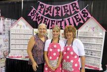 Paper Sweeties Shows! / by Debbie Marcinkiewicz