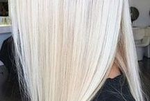 ice blonde hair