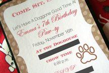 DESIGN   Invitations/Party