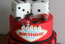 Casino Cake Ideas / If your having a casino theme for your birthday here a few ideas for the birthday cake.
