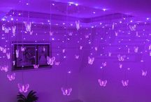 Purple || colors / - aesthetic 《neons, mystery, skies, night, flowers, crystals, thunder 》