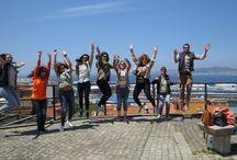 Vigo a pie: mar, historia y gastronomía (17/05/2016). / Fotos de la ruta Vigo a pie del 17/05/2016, con paradas gastronómicas en Latabarra y Taberna a Mina para degustación de gastronomía local.