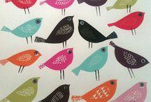 Art: Birds / art & illustrations of birds