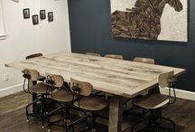 Mesas de roble o madera