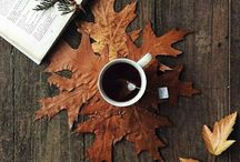 Autumn mornings full of coffee