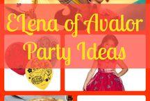 Elena Birthday Party Ideas