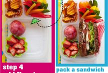 Lunch and snack ideas / by Jen
