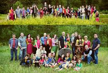 Large/Extended Family poses