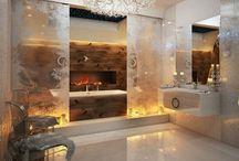 Beautiful Bathrooms-Csodaszép Fürdőszobák / Megmutatjuk a világ legszebb fürdőszobáit. Itt biztosan mindenki szivesen relaxálna :)