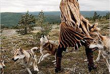 Wolves.  Foxes. / by Kari Garon