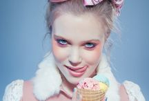 Pastel photoshoot