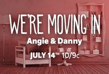 We're Moving In: Angie & Danny / Check out FYI TV's new show, We're Moving In, Tuesdays at 10/9c for everything home-inspiration! http://www.fyi.tv/shows/were-moving-in / by FYI TV