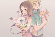 Digimon - Shippings / by Elizabeth S.