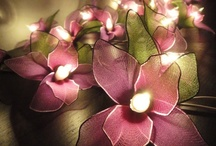 Flores con nylon