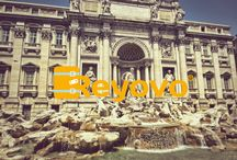 Rome is beautiful with Reyovo. / Traveling around Rome with Reyovo.