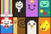 Cross Stitch Ideas - Adventure Time